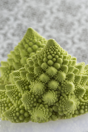 Small Romanesco Florets.