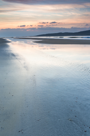 Luskentyre beach on the Isle of Harris in the Outer Hebrides.