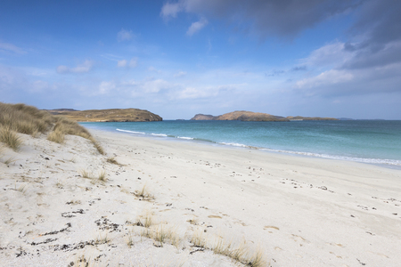 Traigh na Beirigh beach at Neep on the Isle of Lewis in the Outer Hebrides.