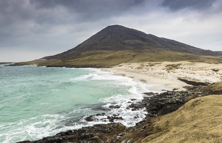 Traigh an Taoibh Thuath on the Isle of Harris in the Outer Hebrides.