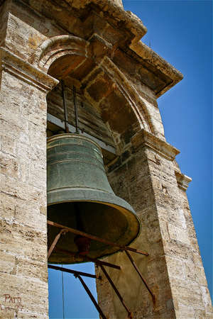 valencia: Spanish Bell Tower at Cathedral of Valencia