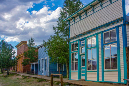 south park: South Park City, Colorado, ghost town with Old West buildings Editorial