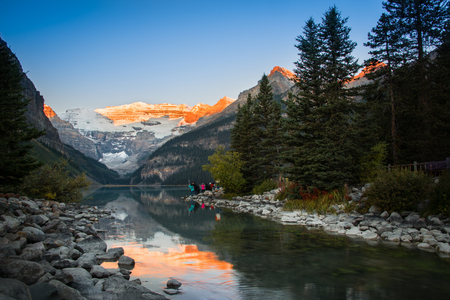Lake Louise Sunrise, Banff National Park, Canadian Rockies