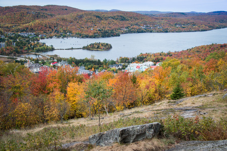 Autumn colours in Mont Tremblant, Cancada
