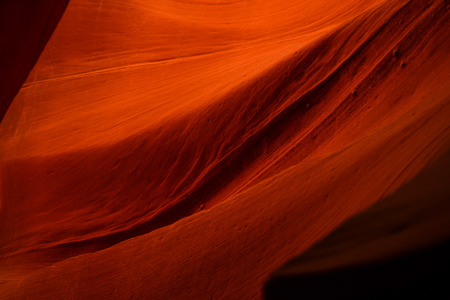 Orange Rock Waves in Antelope Canyon, Arizona, USA Stock fotó