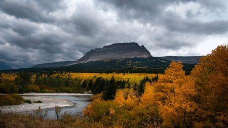 Autumn at Glacier National Park, Montana, USA