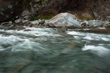The Hangatahua River, alternatively known as the Stony River, is a river of the Taranaki Region of New Zealand