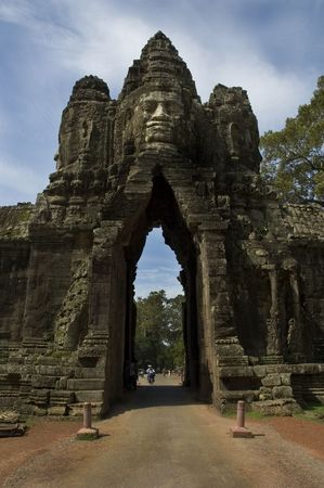 thom: Entrance to Angkor Thom