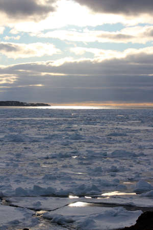 as far as the eye can see: The Ice Seems to Reach as Far as the Eye Can See