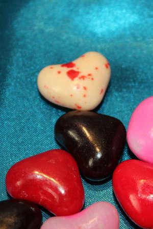 shaped: Heart shaped jelly bean candy