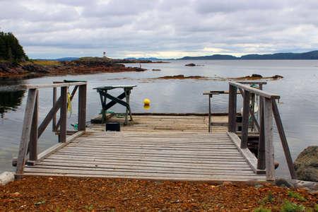 warm water fish: Splitting tables on a wharf