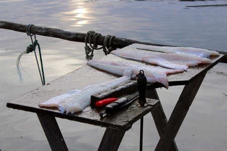 codfish: Fresh codfish fillets