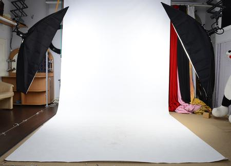 Foto studio achtergrond Stockfoto