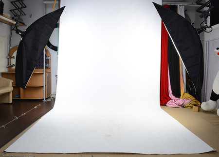 photo studio: Photo studio background Stock Photo