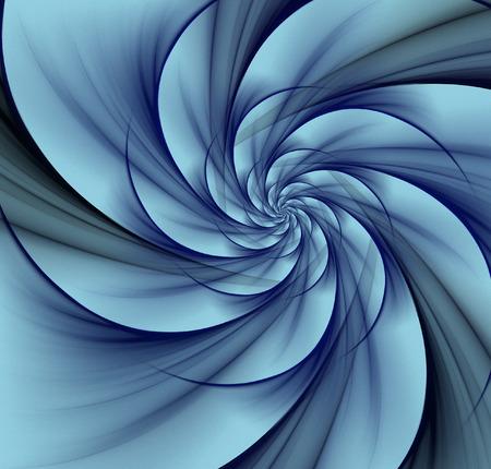 abstract blue vortex background