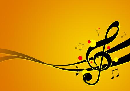 music festival graphic illustration