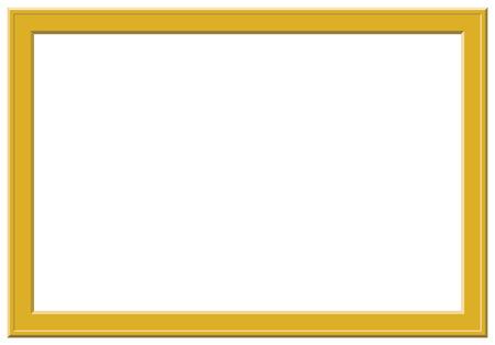 bordering: Vector de Oro elegante marco