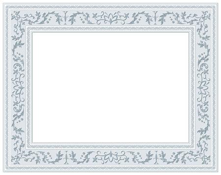 bordering: ornamento cl�sico Vector marco  Vectores