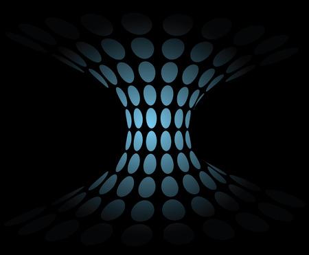 glow vortex abstract vector background