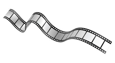 vector film strip Stock Vector - 4053407