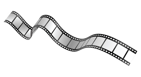 vettore film strip