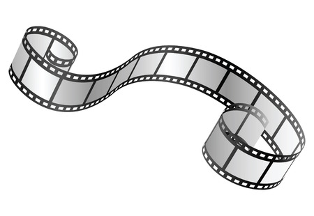 35mm film motion picture camera: vector film strip