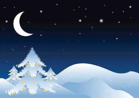 winter vector illustration Stock Vector - 4053449