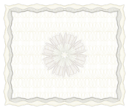 vector guilloche border