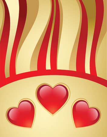 valentines day vector background Vector
