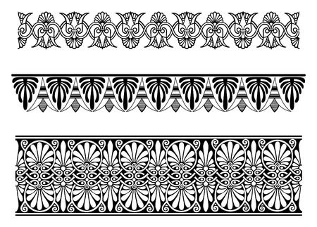 vector border ornaments Illustration