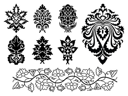 vector decor elements