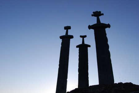 sword: Swords in rock