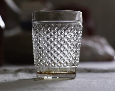 The beautiful glass Reklamní fotografie