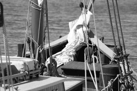 old school sailing
