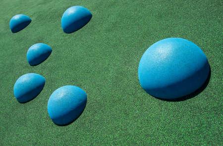 forme: Cercle formes dans le terrain de jeu
