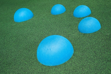 surface: Circle shapes in playground