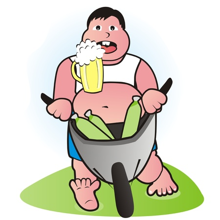 tipple: fatty and beer