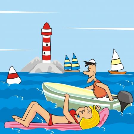 frisk: motorboat