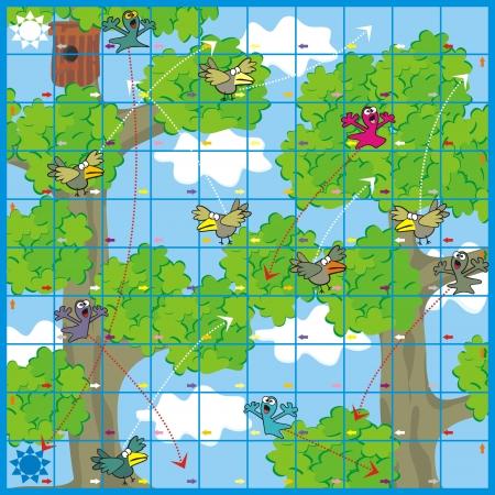 brettspiel: Spiel-V�gel und Gespenster