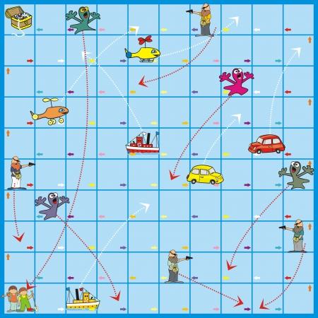 delectation: Board Game - Treasure Quest