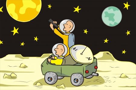 moon rover: moon rover