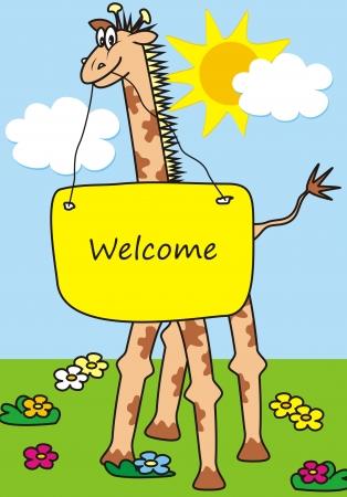baby s: giraffe