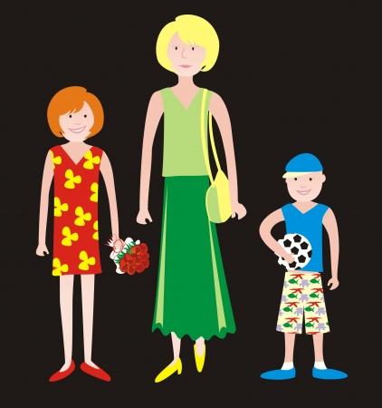 kindred: family Illustration