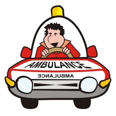 convoy: uomo in auto-ambulanza