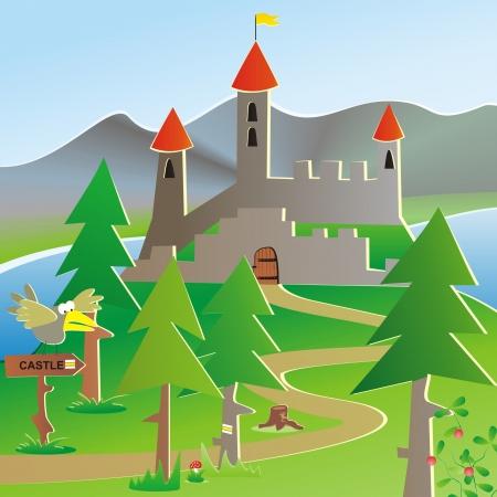 mountain cranberry: castle