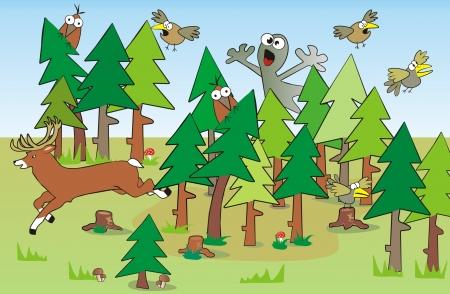bugaboo: ossessionato foresta