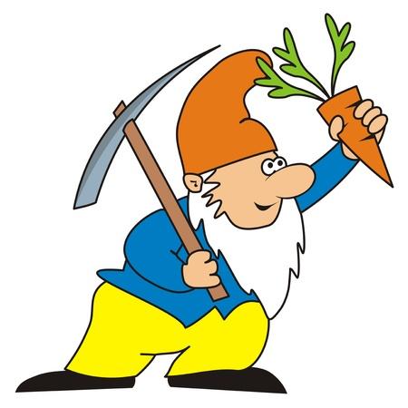 pygmy: dwarf Illustration