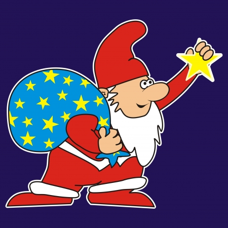 pygmy: Santa Claus and Star