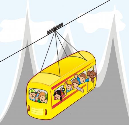 buckler: cableway
