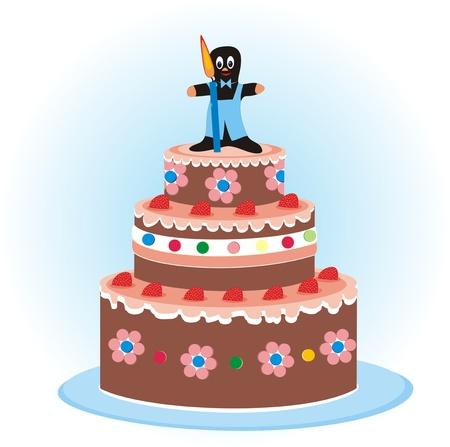 junket: cake for children